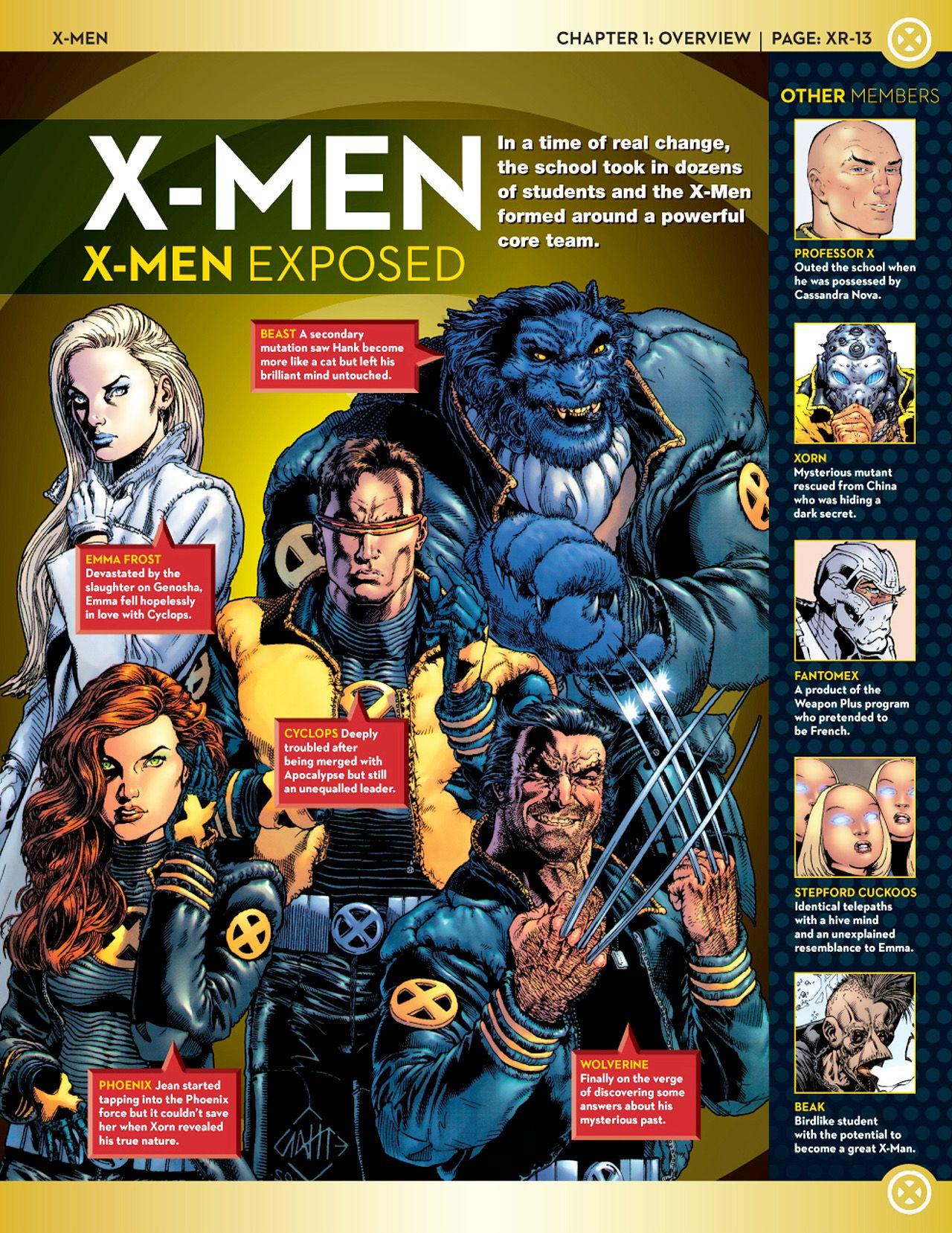 X Men Teams Rosters Nomoremutants Com X Men Marvel Facts Marvel Comics Art