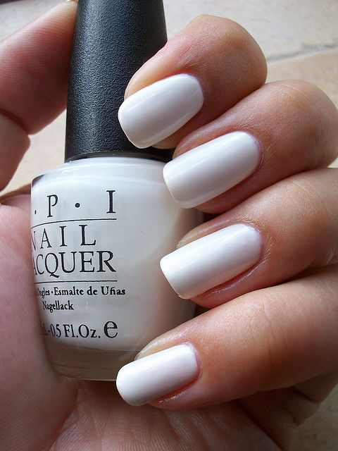 Opi I Do 3 Coats White Nail Polish