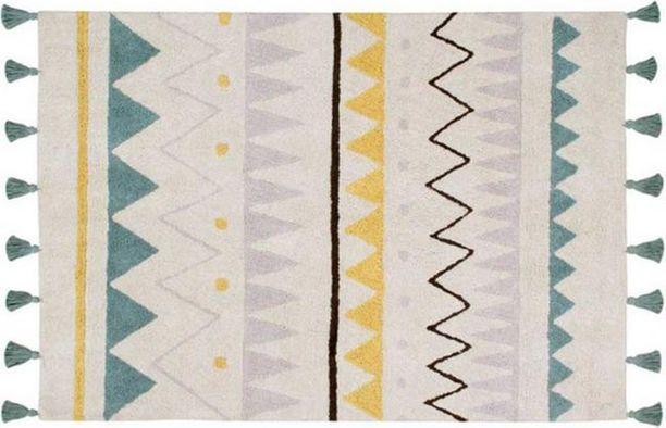 Azteca (120 x 160 cm) Teppich kinderzimmer, Babyzimmer