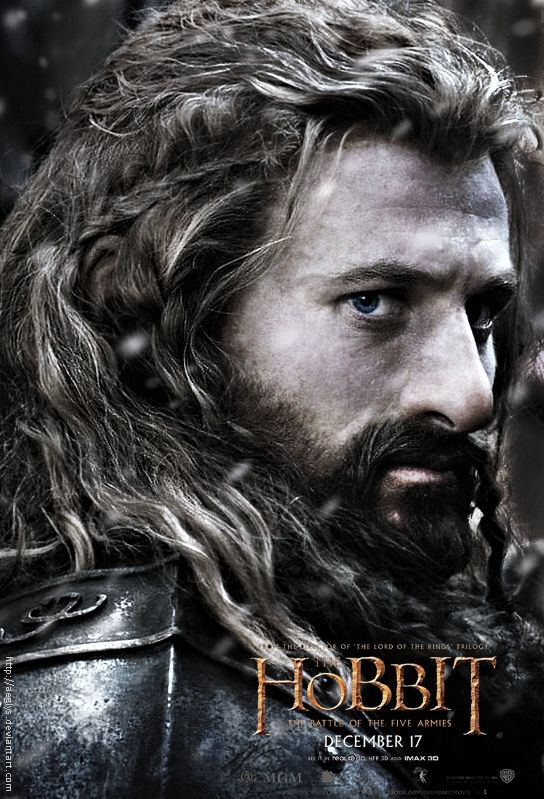 Fili Poster - The Hobbit: Battle of Five Armies by Aeglys.deviantart.com on @deviantART