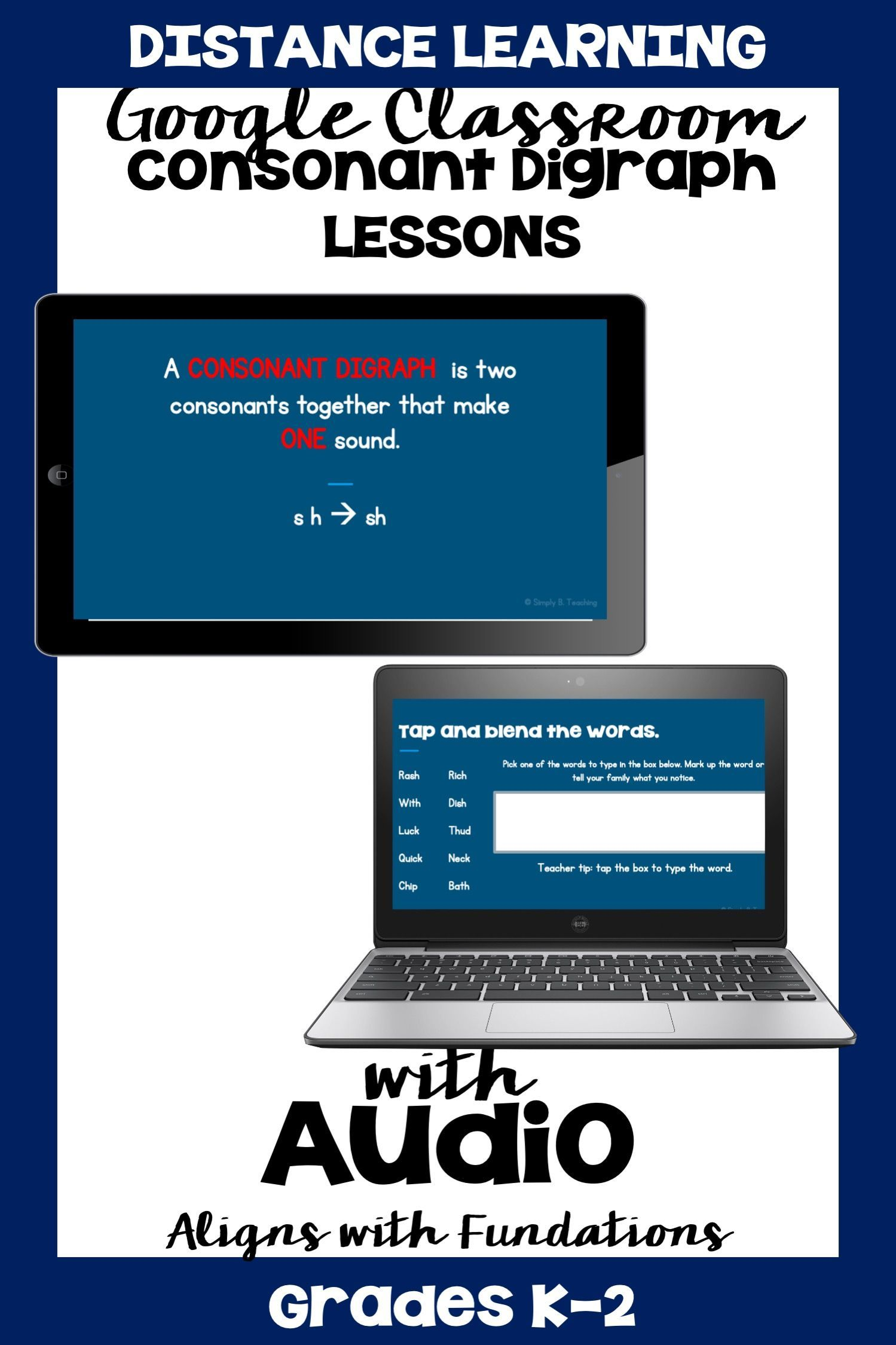 Consonant Digraph Worksheets In