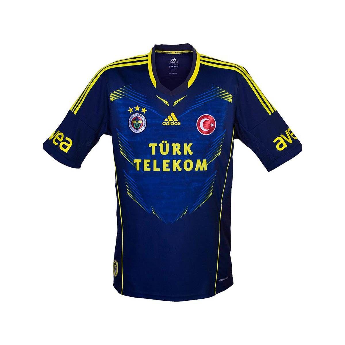 adidas D08133 Fenerbahçe Erkek Taraftar Forması - 1  89abd796eaae9