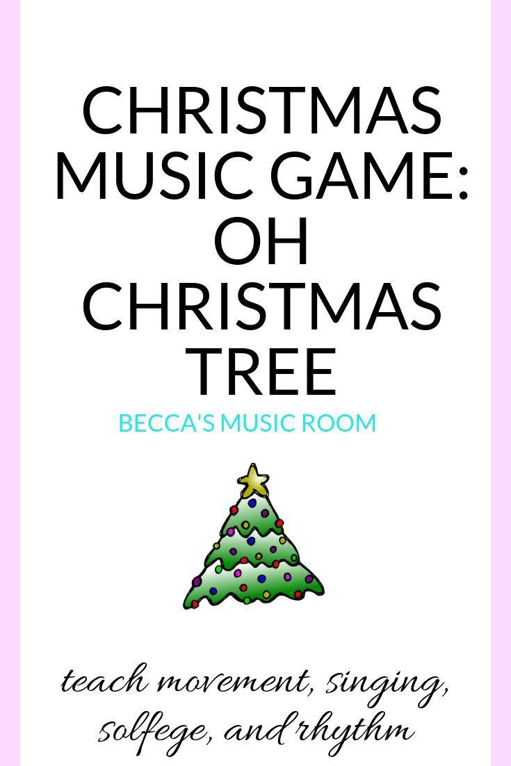 Music Christmas Game: Oh Christmas Tree   Christmas music coloring, Christmas music lesson ...