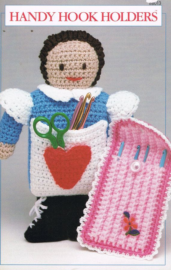 CROCHET Handy Hook Holders Crochet Pattern by BusyBeaverBoutique ...