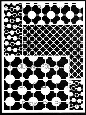 Circular Patterns For Play Thoughts Pinterest Stencils