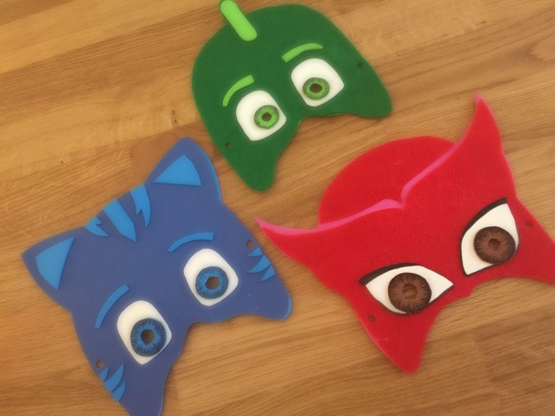 Maschere bambini ~ Maschere di carnevale super pigiamini pj mask pj mask pj and
