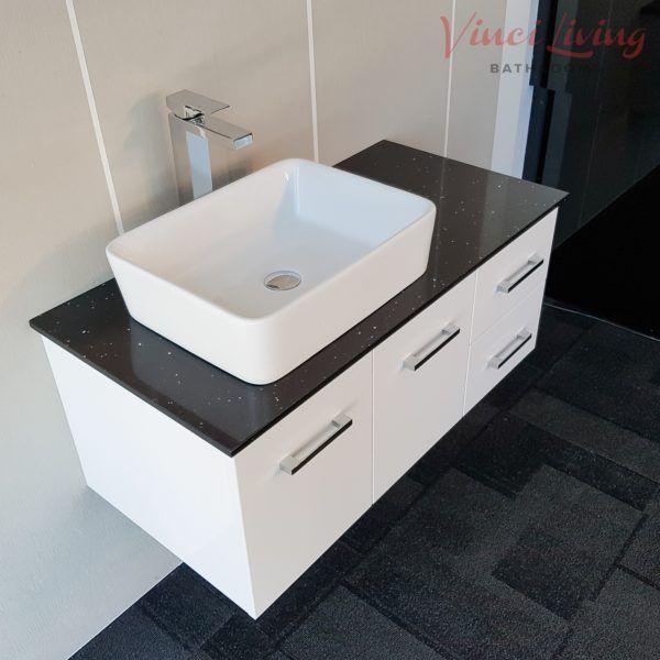 Metro 1000mm Wall Hung Bathroom Vanity