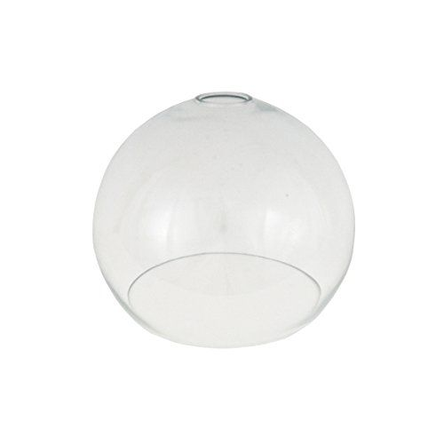 Clear Open Globe Glass Light Shade 250mm for Pendant Lighting, Replacement  Glass Lampshade Pendant Lighting