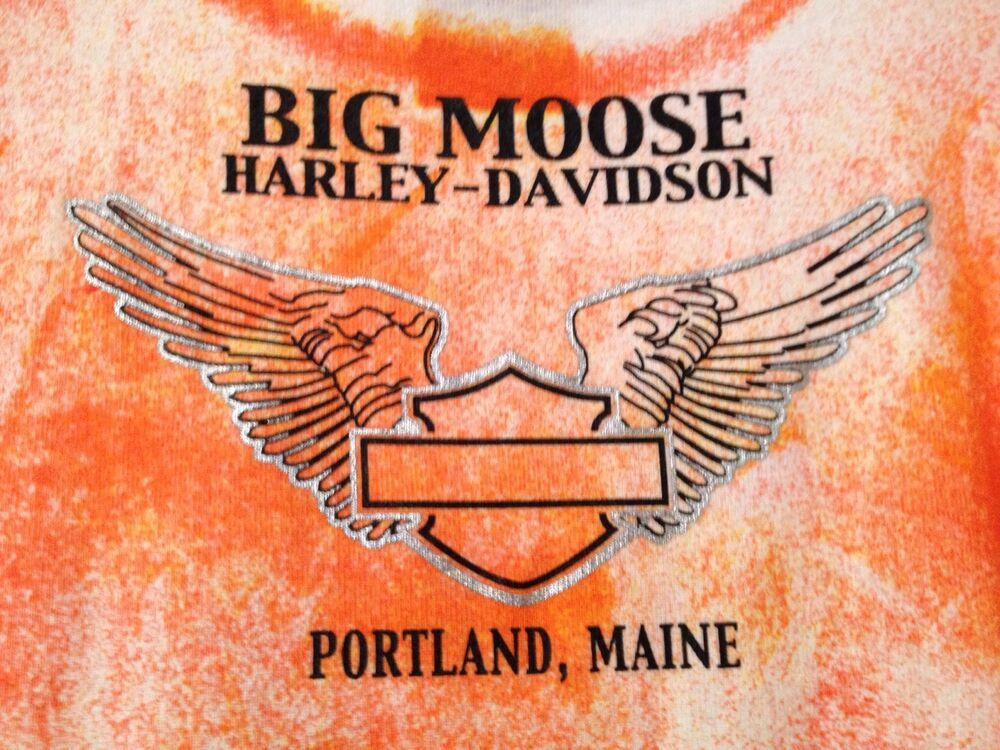 HarleyDavidson Big Moose Portland, Maine Women's S