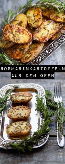 Rosmarinkartoffeln aus dem Ofen - meine Liebe, meine Sucht #kartoffelnofen Rosmarinkartoffeln aus dem Ofen - www.kuechenchaotin.de #kartoffelnofen