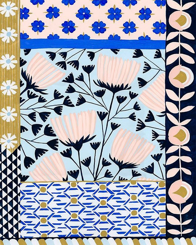 Anisa Makhoul - Illustration Love #textiledesign