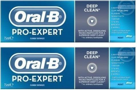 Oral-B Pro-Expert Οδοντόκρεμα για Βαθύ Kαθαρισμό 75ml  Προσφορά 1+1 Δώρο. Μάθετε περισσότερα ΕΔΩ: https://www.pharm24.gr/index.php?main_page=product_info&products_id=11761