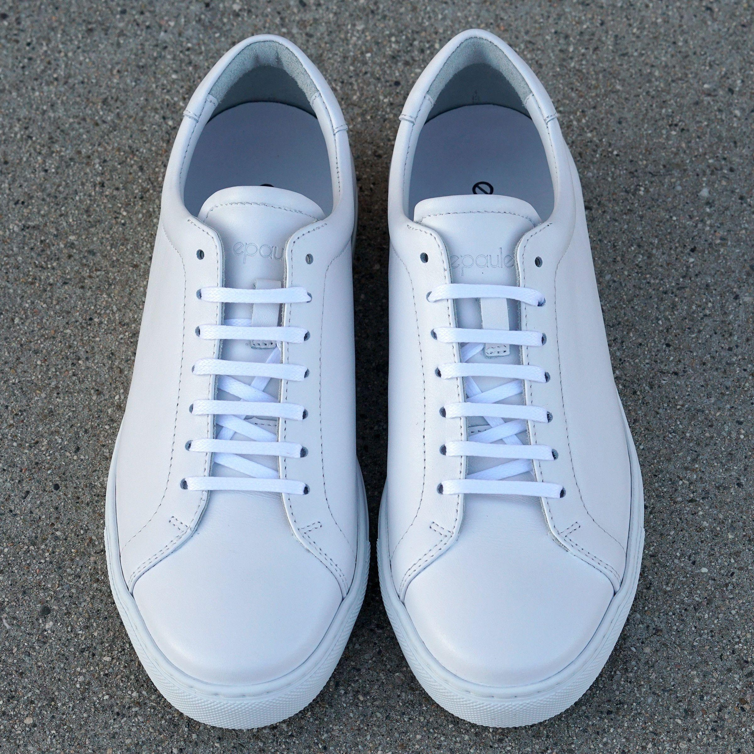 Monochrome WhiteShoes Tennis Low Epaulet Trainer 0kX8nwOP