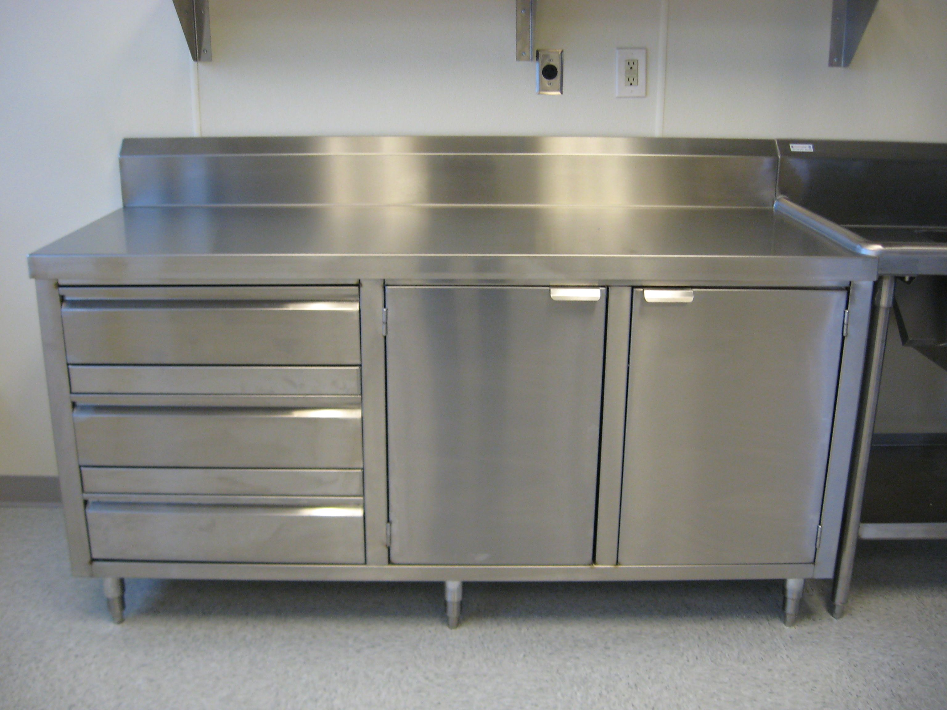 Best Kitchen Gallery: Custom Dish Cabi Michael Kitchen Love Pinterest Metal of Stainless Steel Commercial Kitchen Cabinets on rachelxblog.com