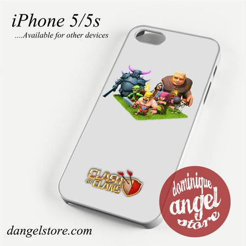Clash of Clans With Elixir Character Phone case for iPhone 4/4s/5/5c/5s/6/6 plus