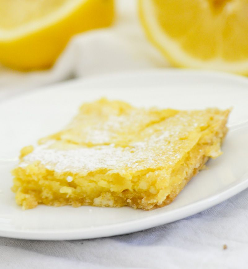 Weight Watcher's Recipe Lemon Bars (Weight Watchers 4