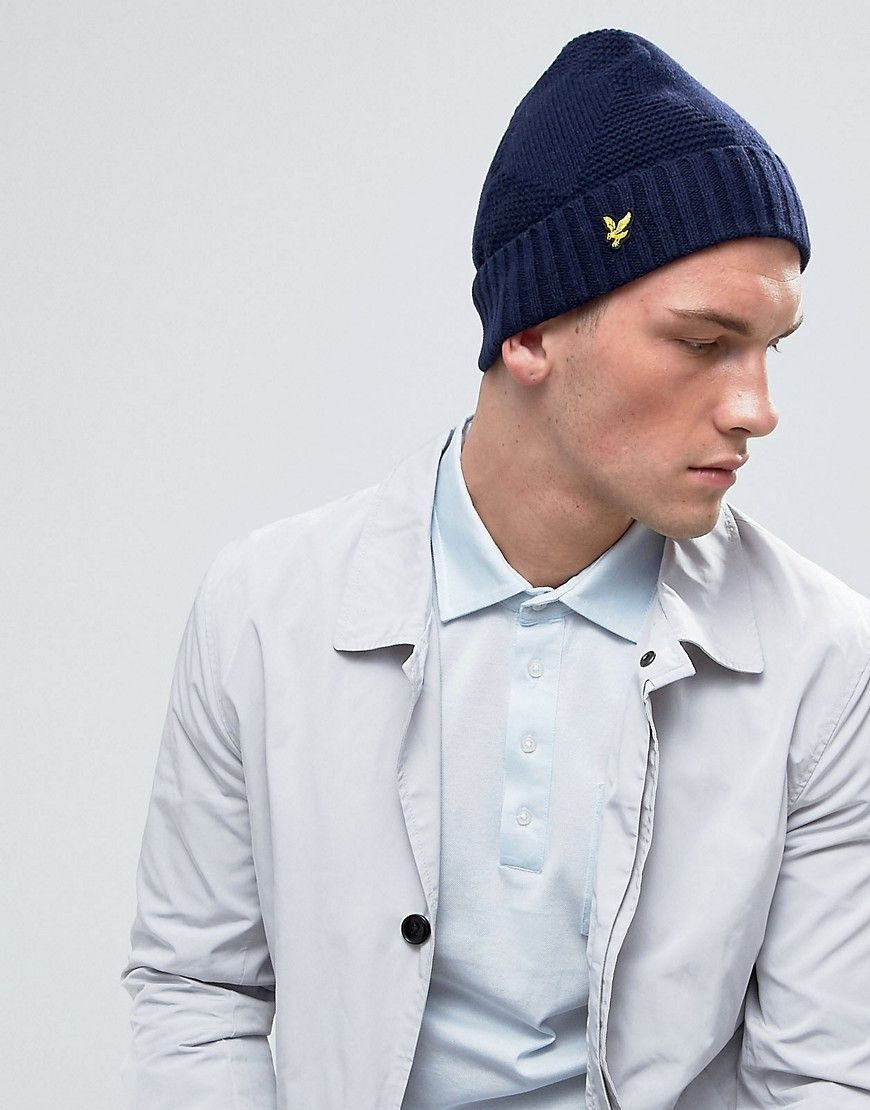 4cf4595b46514 Get this Lyle   Scott s winter hat now! Click for more details. Worldwide  shipping