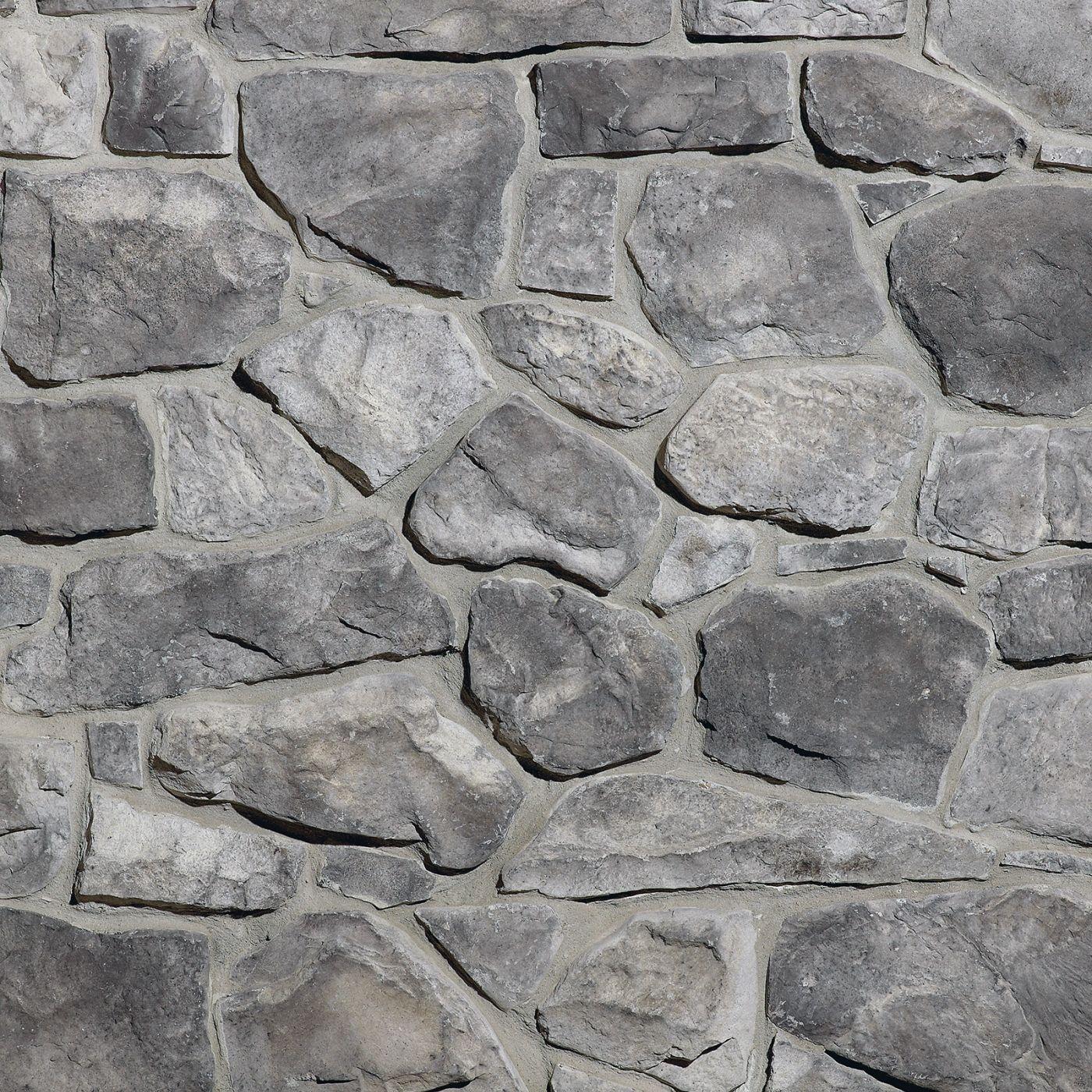 Grey Fieldstone Stone Veneer From Environmental Stoneworks