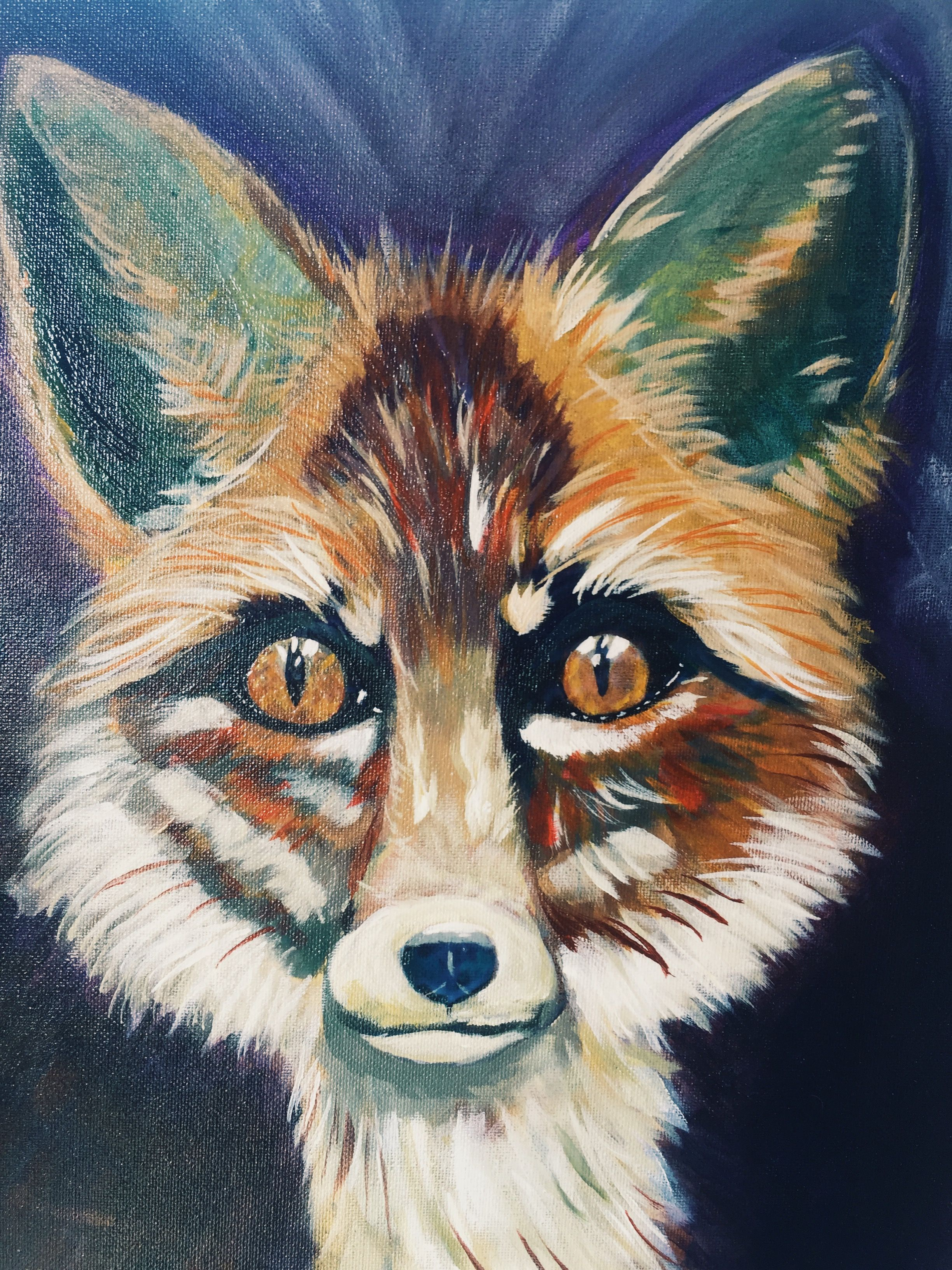 Art & how it found me   Fox painting, The art sherpa, Painting