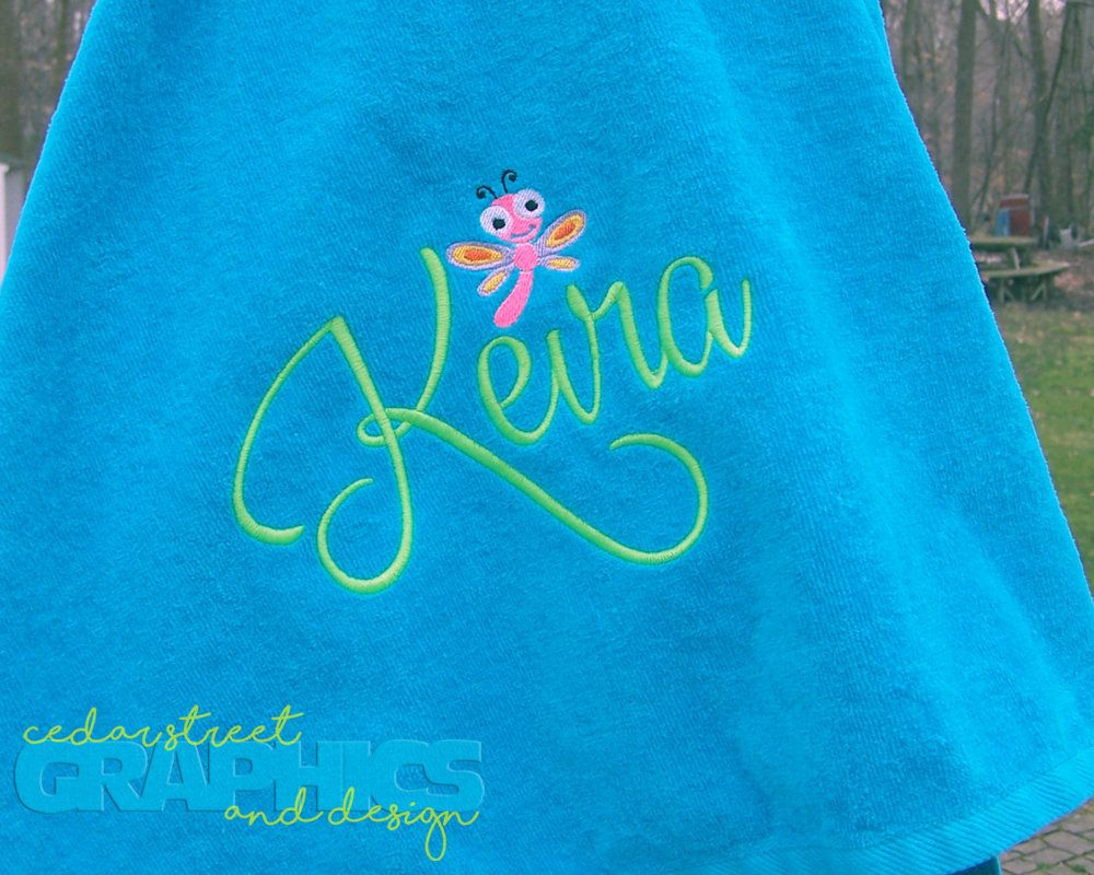 Large Monogrammed Beach Towels.Personalized Beach Towel Extra Large Child S Beachtowel