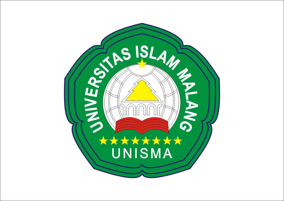 Logo Unisma Universitas Islam Malang Vector Desain Logo Desain Seni Kaligrafi