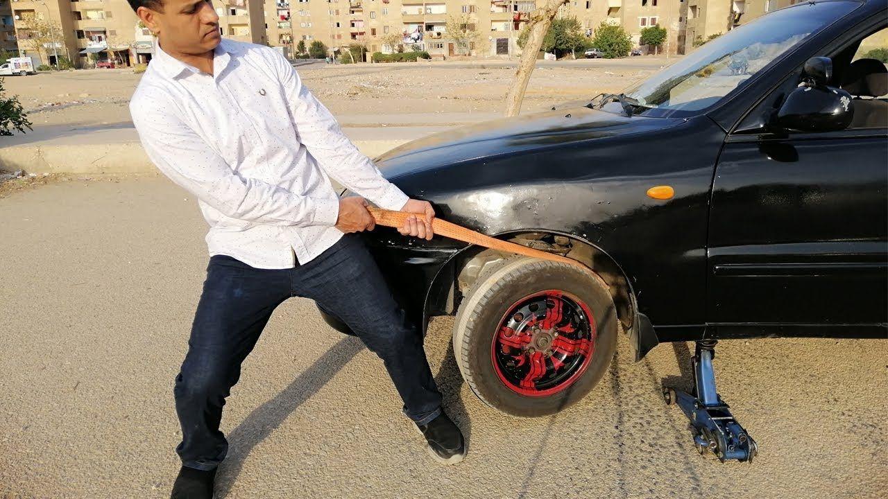 طريقة تشغيل سيارة بطاريتها ضعيفة او بدون بطارية