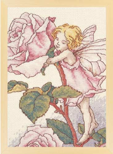 Rose Fairy Cross Stitch
