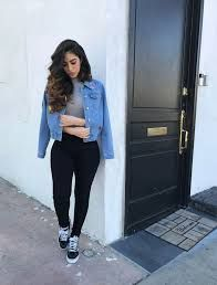Image result for womens outfits black high tops  aa8052a35b