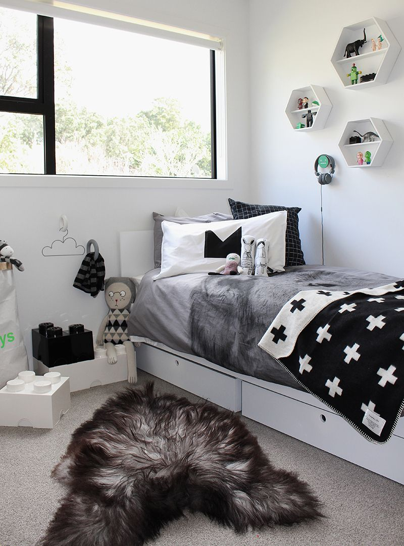 Kids Bedroom Black And White the design chaser: home build update | marlow's room / get started