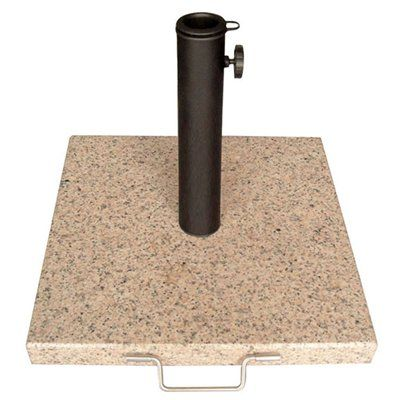 Garden Treasures Granite Umbrella Base Outdoor Living Outdoor
