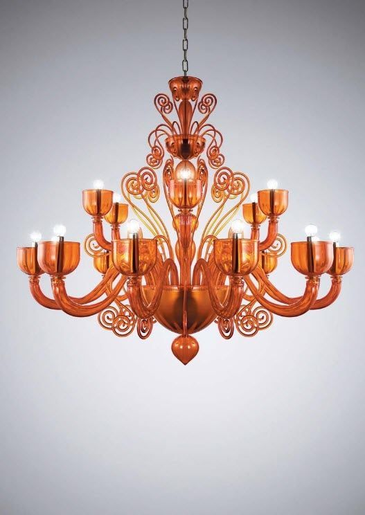 design chandelier (Murano blown glass) GLAMOUR S18 la murrina | 0-D ...