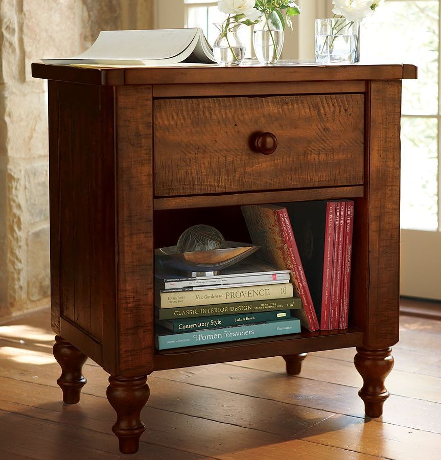 Mesa de noche Robusta | Muebles de madera/ ebanistería | Pinterest ...