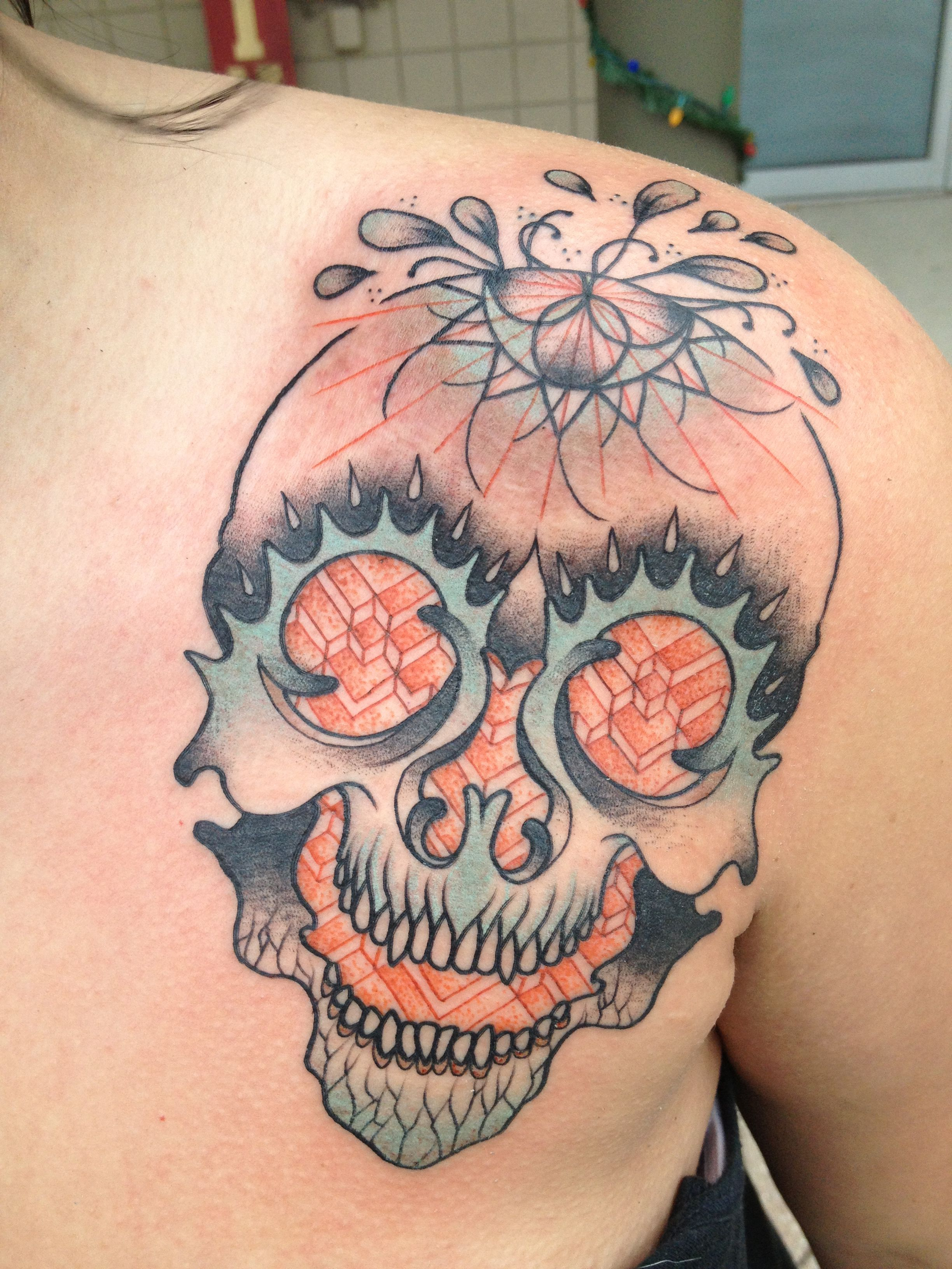Geometric Skull - Matt Lambdin