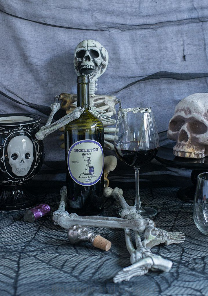 High Quality MY Favorite Halloween Red Wine. Skeleton Malbec. And 11 Other Amazing Wines  From @