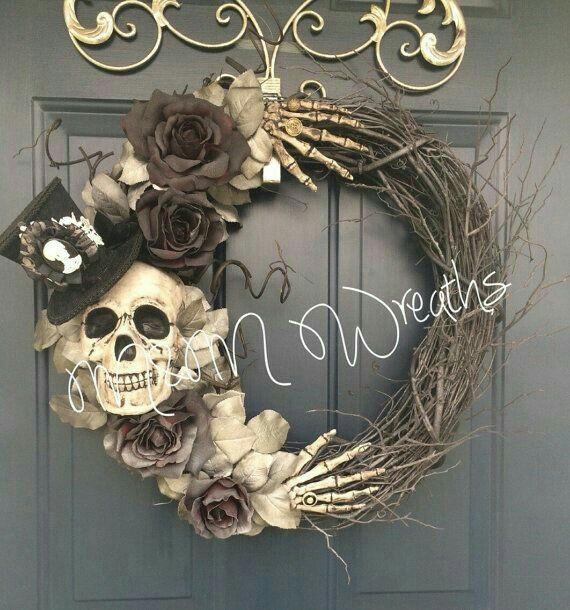 Dollar-Shop basteln Spinnennetz Vase, Handwerk, Halloween-Dekorationen #halloweend ... - Halloween Deko - Wreath #spinnennetzbasteln