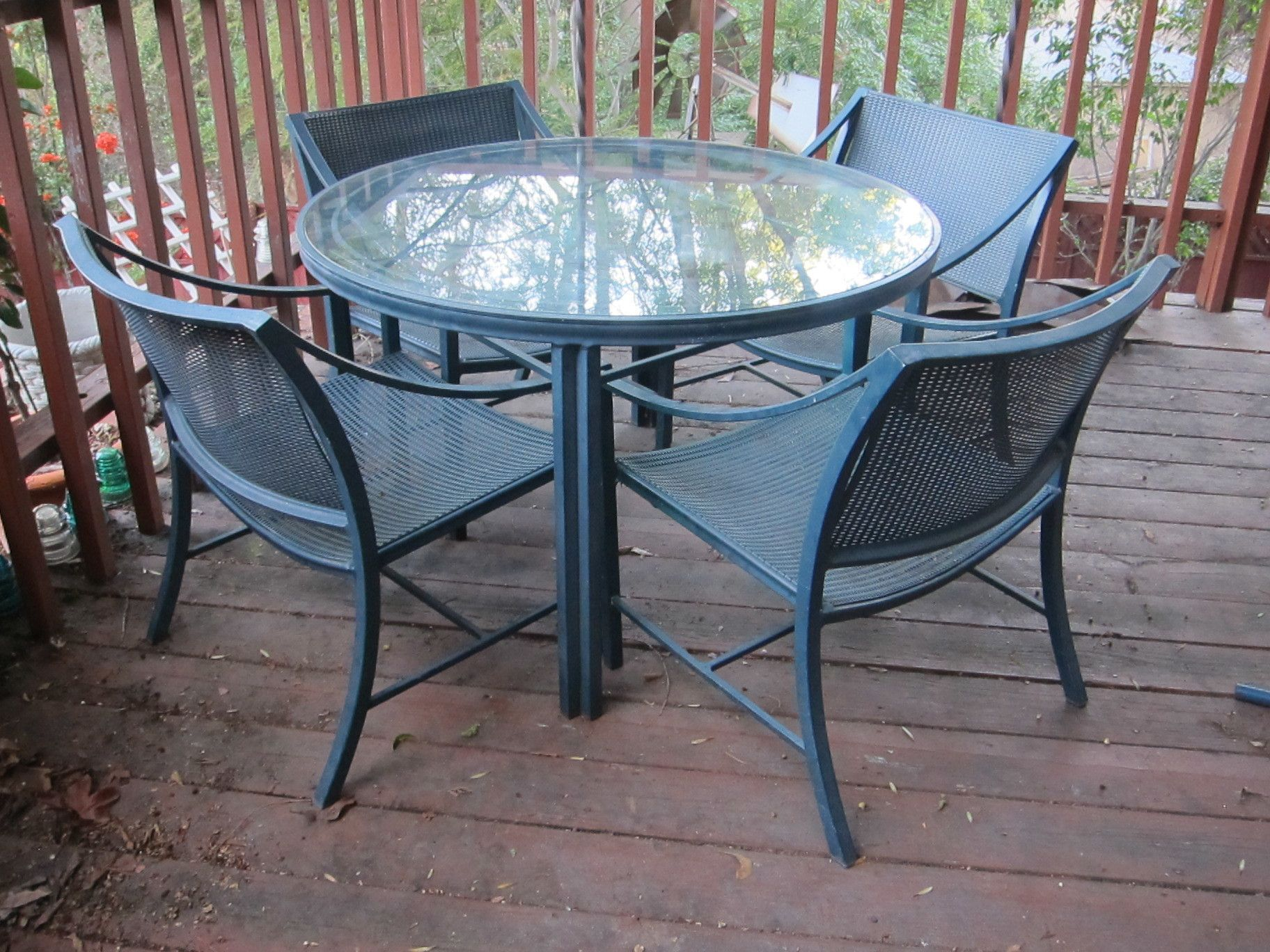 Vintage Brown Jordan Regent Series Patio Furniture
