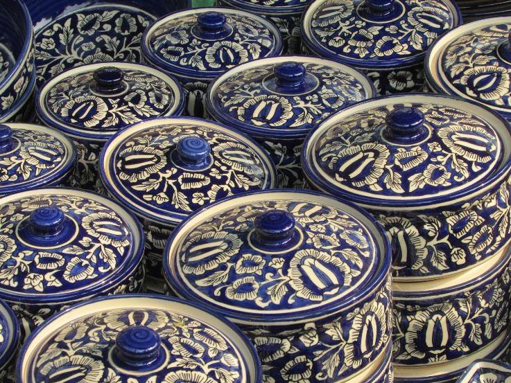 Blue Pottery Faridabad Haryana India Blue Pottery Faridabad Pottery