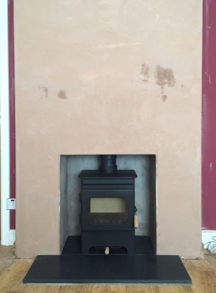 Burley debdale wood burning stove rendered fireplace opening honed burley debdale wood burning stove rendered fireplace opening honed granite hearth teraionfo