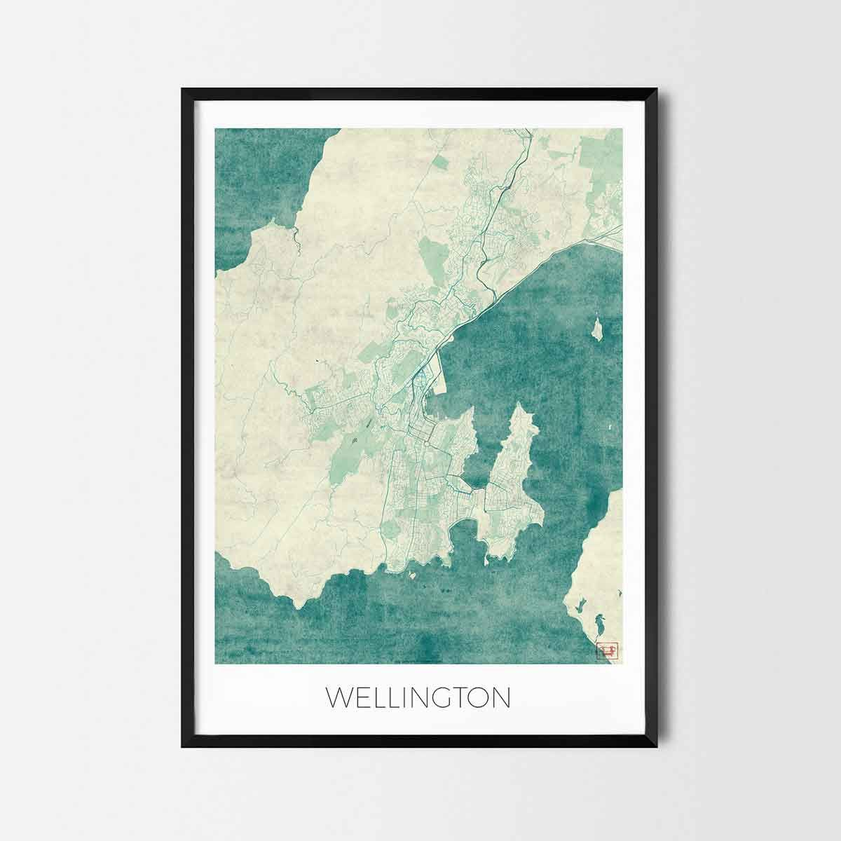 Wellington art posters city art map posters and prints art posters wellington art posters city art map posters and prints gumiabroncs Choice Image