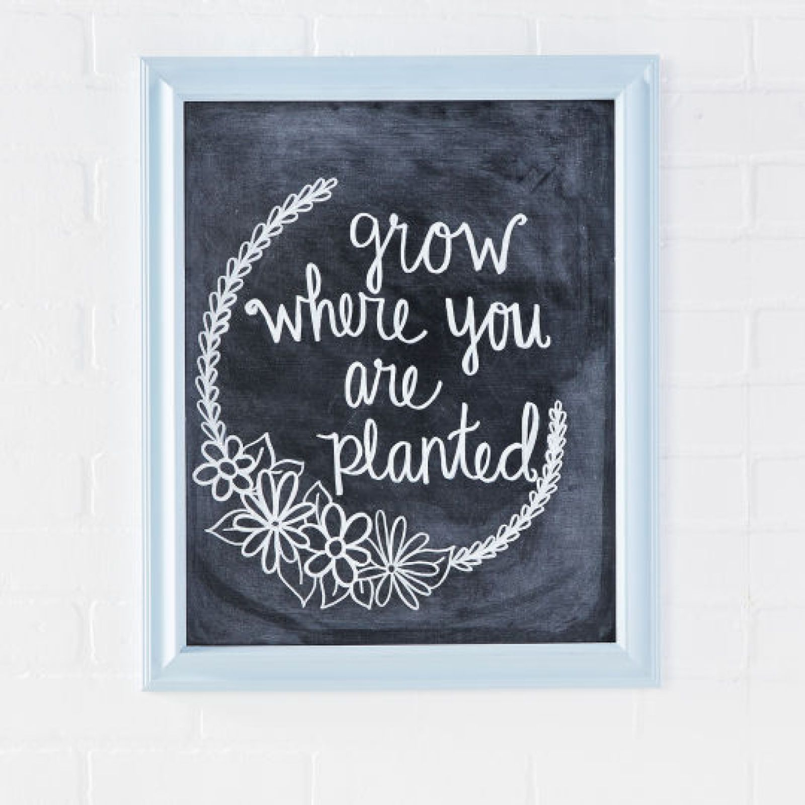 Chalk Diy Inspirational Chalk Message Board Michaels Craft