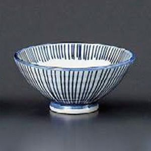 Hoso Tokusa Chawan Rice Bowl