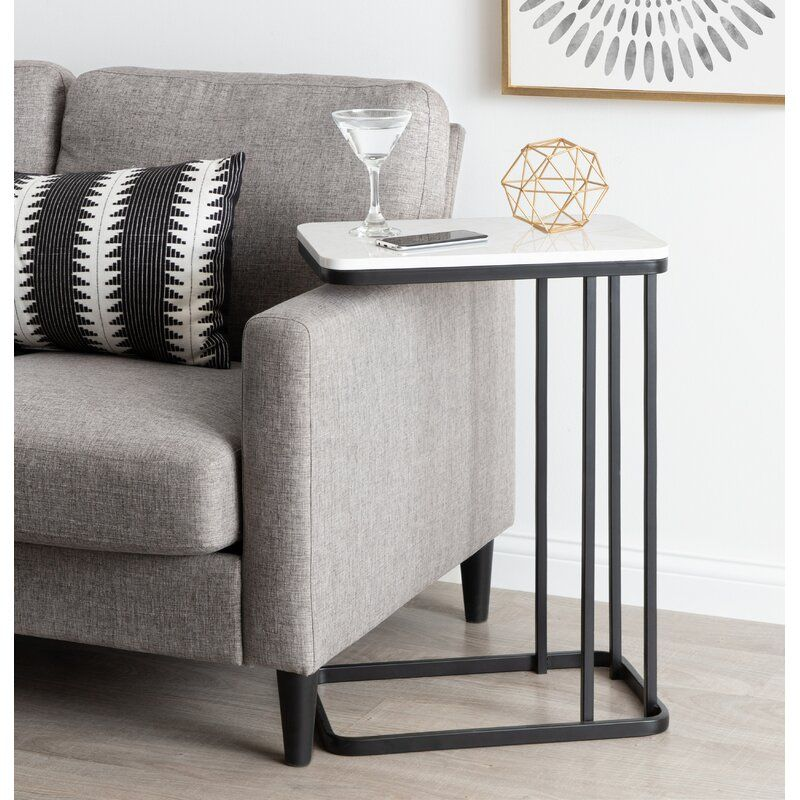 Isabel C Table End Table In 2021 C Table End Tables Modern Side Table C side tables living room