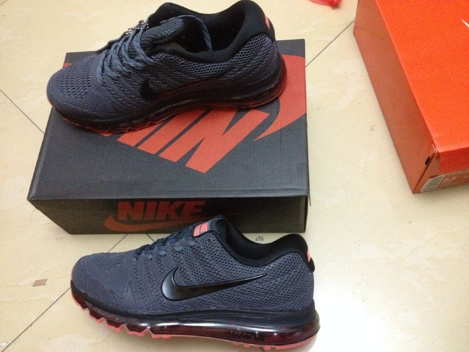 best sneakers 1a500 ea31a Deeply Love Nike Air Max 2017 Charcoal Gary Orange Sports Shoes Shop