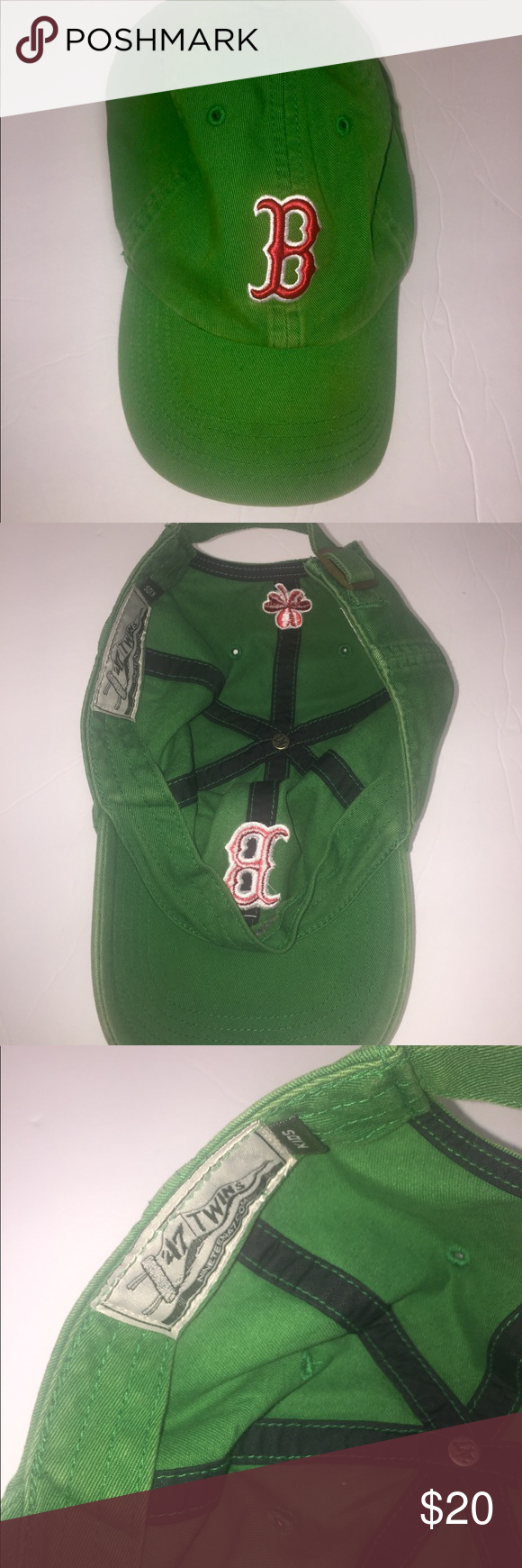 c35857812fd11 Child Boston red Sox st Patrick green shamrock cap Child Boston red Sox st  Patrick green