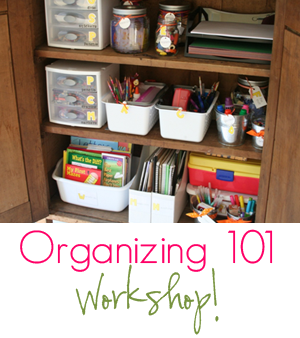 List of organizing projects... Amazing blog and website!