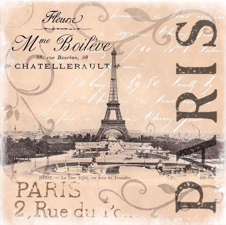 Pin By Maytechu On Imagenes Composiciones Y Fondos En Color De Paris Y Londres Vintage Eiffel Tower Art Vintage Paris Paris Wall Art