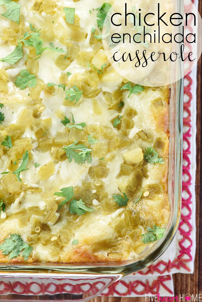 Chicken enchilada casserole with all natural ingredients like chicken enchilada casserole with all natural ingredients like salsa verde green chiles forumfinder Image collections