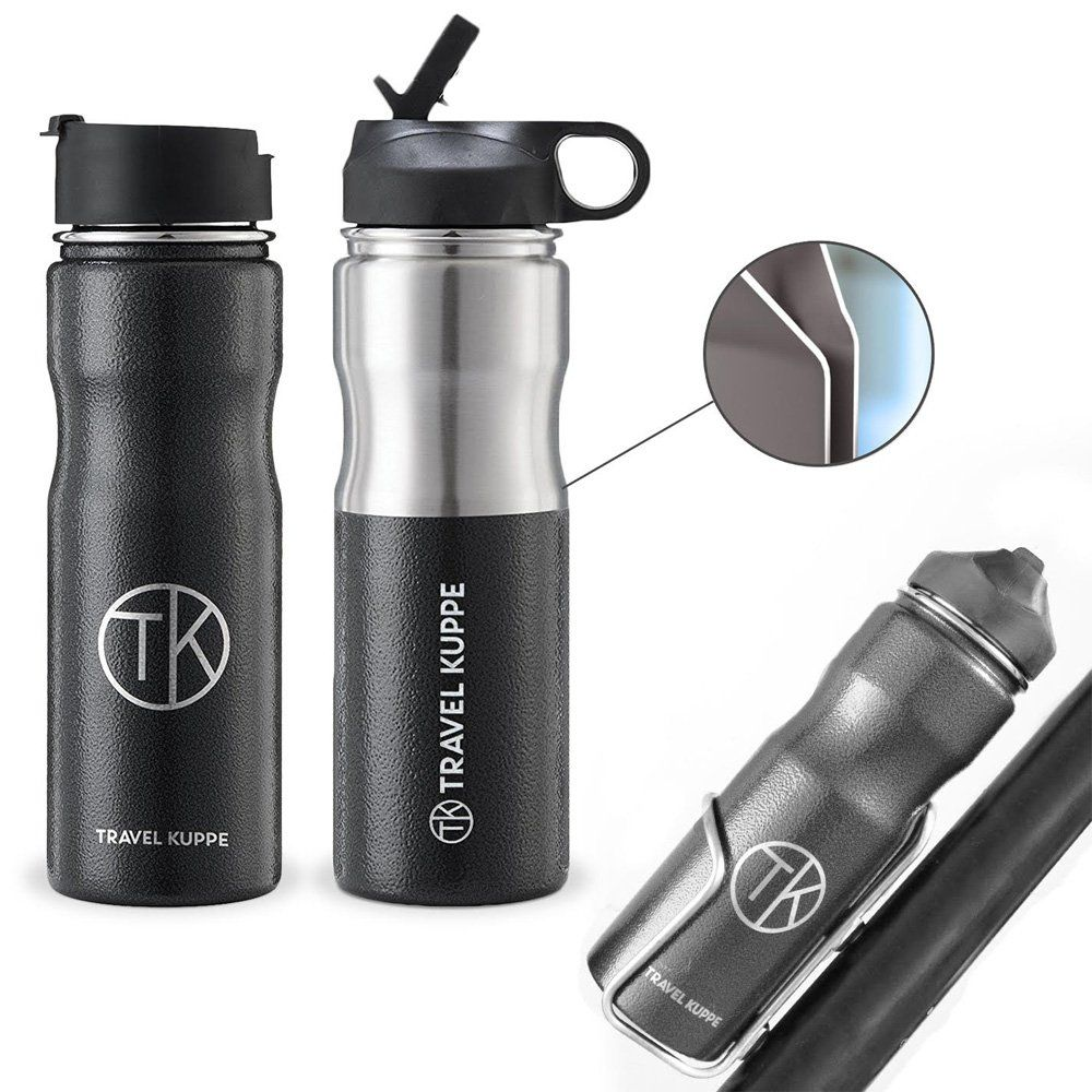 Travel Kuppe Vacuum Insulated Stainless Steel Cycling