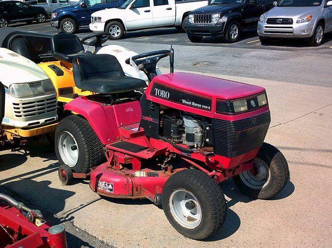 Toro Wheel Horse 244 5 Lawn Tractor Pristow S Johnstown