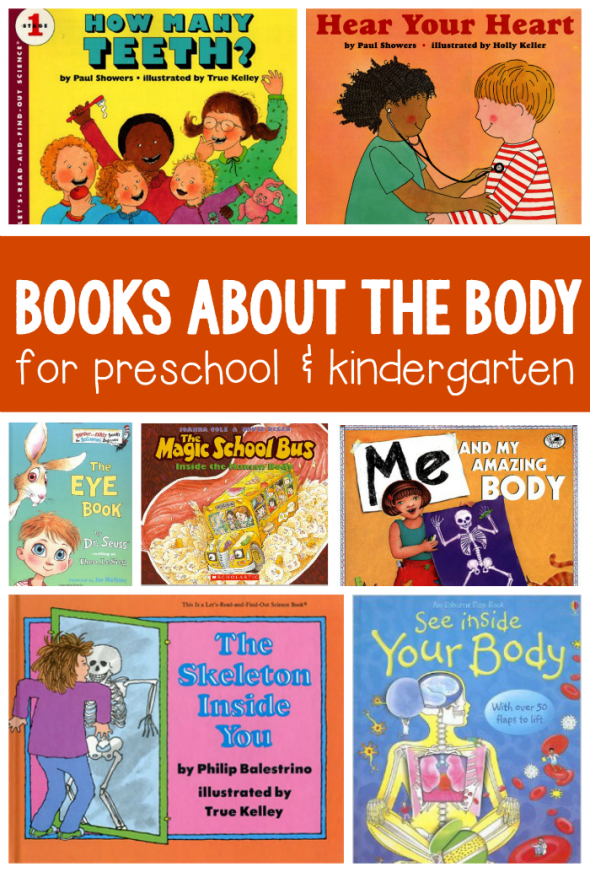 Books About The Human Body For Kids Ages 3 8 Body